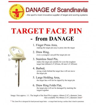 Danage Targetpin 40mm