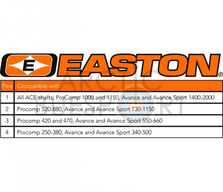 Easton pin 4mm